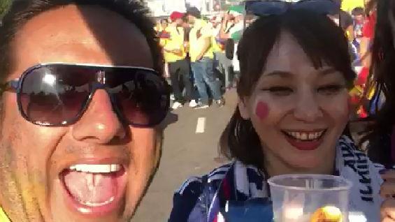 El colombiano que se burló de las mujeres.