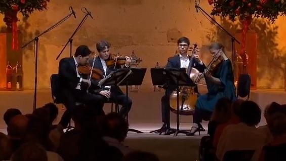 Foto: Schumann Quartett - Festival Internacional de Música de Cartagena