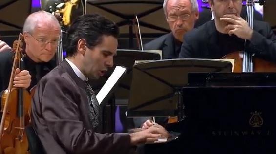 Foto: Martin Stadtfeld, pianista alemán - Festival Internacional de Música de Cartagena