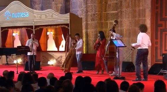 Foto: Concierto 'Divertimento n°1' desde la Plaza de San Pedro Claver - Festival de Música de Cartagena