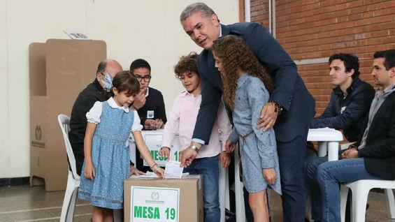 Iván Duque, candidato presidencial. Foto:  EFE/Mauricio Dueñas Castañeda