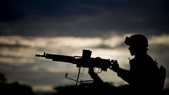 En la frontera hay desplegados 12.000 miembros de la Fuerza Pública. Foto: AFP