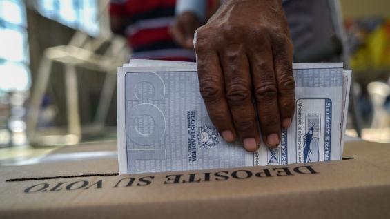 El domingo 27 de mayo los colombianos irán a las urnas. Foto: AFP