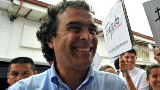 Sergio Fajardo, Foto: AFP.