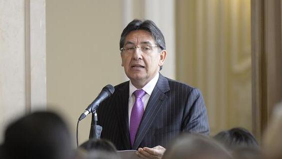 El fiscal general, Néstor Humberto Martínez. Foto: Oficial