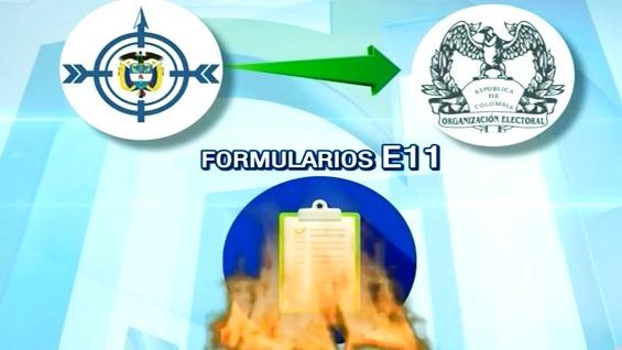 FOTO: Formularios E11/ NoticiasRCN.com