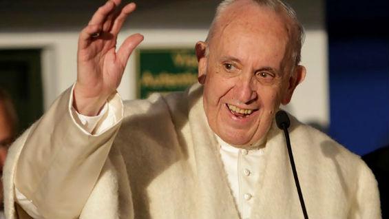 El papa llegó el miércoles a Colombia donde visitará cuatro ciudades. Foto: EFE/Ricardo Maldonado Rozo