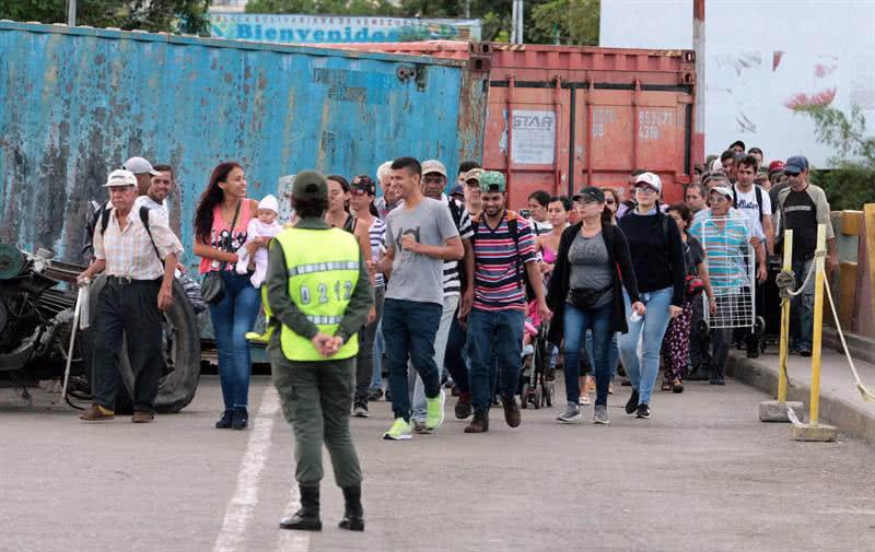 Paso frontera Venezuela