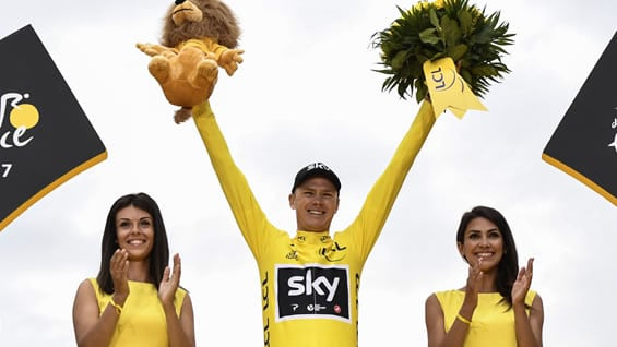 Christopher Froome. Foto: Jeff PACHOUD / AFP