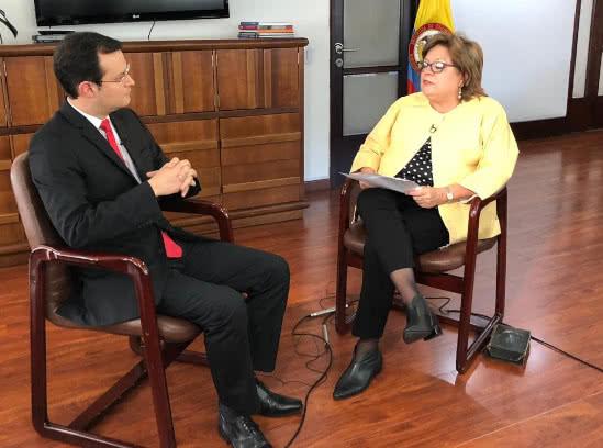 Así Gloria María Borrero se convierte en la primera ministra de Iván Duque que renuncia desde que inició su gobierno, el pasado 7 de agosto.