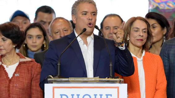 Iván Duque . Foto: AFP