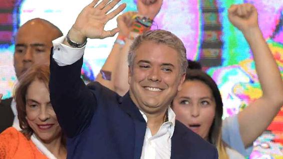 Iván Duque. Foto: AFP