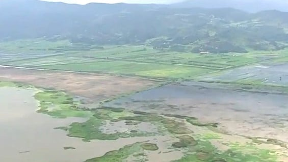 Emergencia por desbordamiento de la Laguna Fúquene en Gachetá, Cundinamarca - Noticias RCN