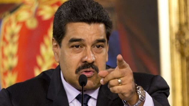 Nicolás Maduro, presidente de Venezuela. Foto: AFP