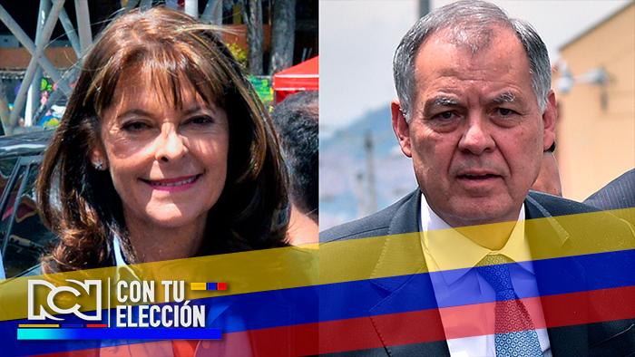 Foto: Marta Lucía Ramírez y Alejandro Ordóñez - NoticiasRCN.com