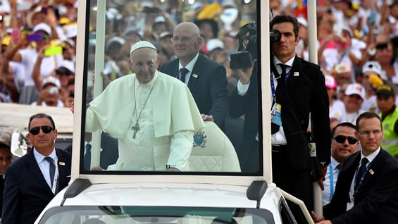 Papa Francisco. Foto: Alberto PIZZOLI / AFP