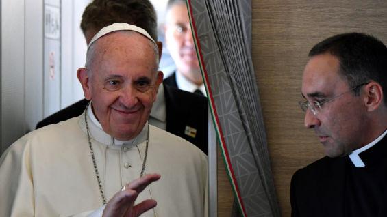 El papa Francisco. Alberto Pizzoli / AFP
