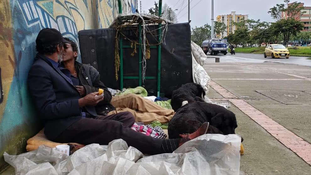 La pareja de habitantes de calle que conmovió al país