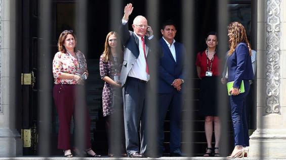 El presidente de Perú, Pedro Pablo Kuczynski. Foto: EFE