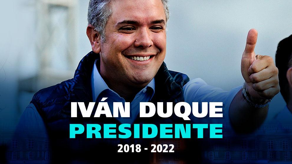 Iván Duque .