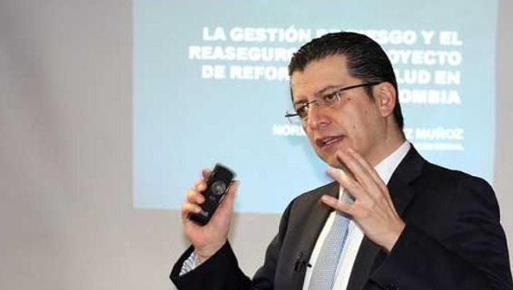 Foto: Norman Julio Muñoz, exsuperintendente de Salud.