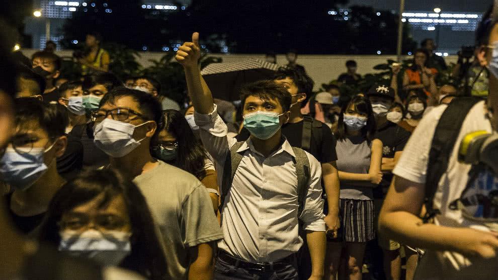 En las últimas semanas aumentó la violencia tanto por parte de los manifestantes como de la policía. Foto: AFP