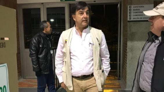 El registrador Juan Carlos Galindo. Foto: Oficial