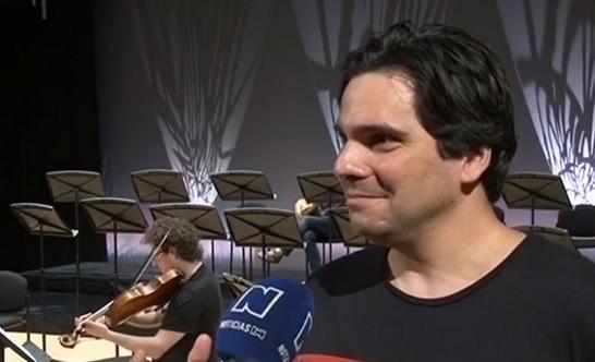 Hernando Escobar, músico de la Orquesta de Cámara de Múnich
