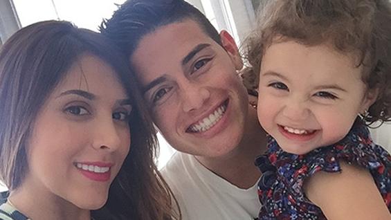 La Hija De James Rodríguez Se Roba Todas Las Miradas Noticias Rcn