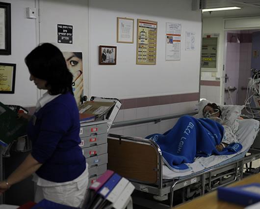 Tanque de oxígeno de paciente hospitalizado explotó