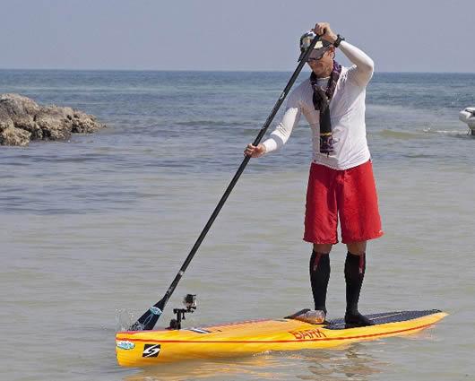 Friberg llega a Key West, Florida (EE.UU.)  Foto: AFP