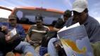 Los migrantes. Foto: AFP