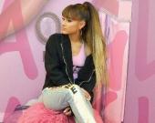 Ariana Grande, cantante estadounidense. Foto: AFP