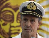 El vocero de la Armada, Enrique Balbi, confirmó la explosión en un segundo reporte. Foto: AFP