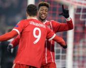 Bayern Múnich celebra. Foto: AFP