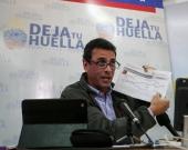 Henrique Capriles, líder opositor.