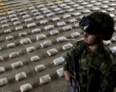 Cocaína incautada por la Policía. Foto: AFP