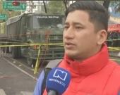 Luis Osorio es oriundo de Pereira, Risaralda y lleva dos años en México. Foto:Captura de vídeo NoticiasRCN