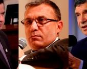 Juan Fernando Cristo, Rafael Pardo y Roy Barreras.