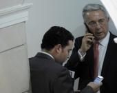 Foto: Álvaro Uribe Velez, senador y expresidente de la República / NoticiasRCN.com - AFP
