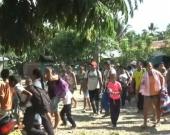 Foto: Comunidades desplazadas