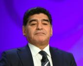 El astro del fútbol, Diego Armando Maradona. Foto: AFP