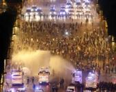 Disturbios cerca de los Campos Elíseos. Foto: EFE