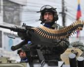 Fuerzas Armadas de Ecuador. Foto: AFP