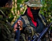 Guerrilleros del ELN. Foto: AFP