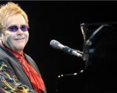 Elton John, cantante británico. Foto: AFP.