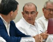 Humberto de la Calle, jefe del equipo negociador del Gobierno. Foto Archivo AFP