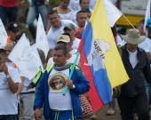 Guerrilleros desmovilizados. Foto: Raúl Arboleda/AFP