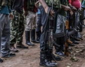 Zona veredal de las Farc. Foto: AFP