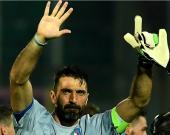 Jugó 220 encuentros con el Parma, 612 con la Juventus y 167 con su equipo nacional. Su 168º partido con la Azzurra. Foto: AFP